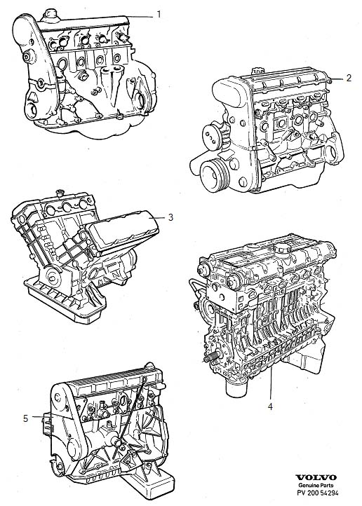 Volvo 940 Engines replacement engines
