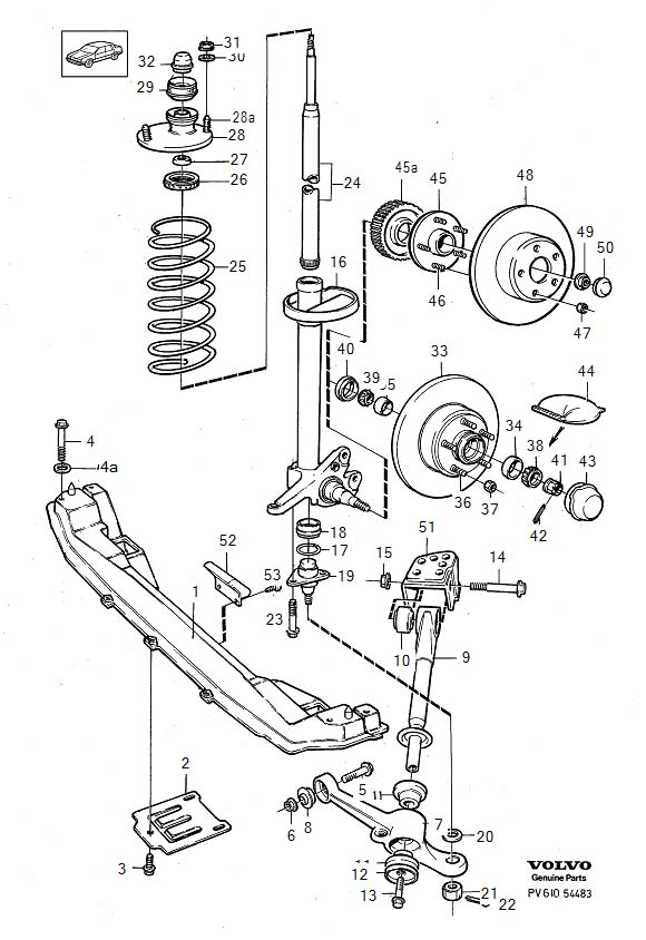 2001 Volvo C70 Engine Diagram
