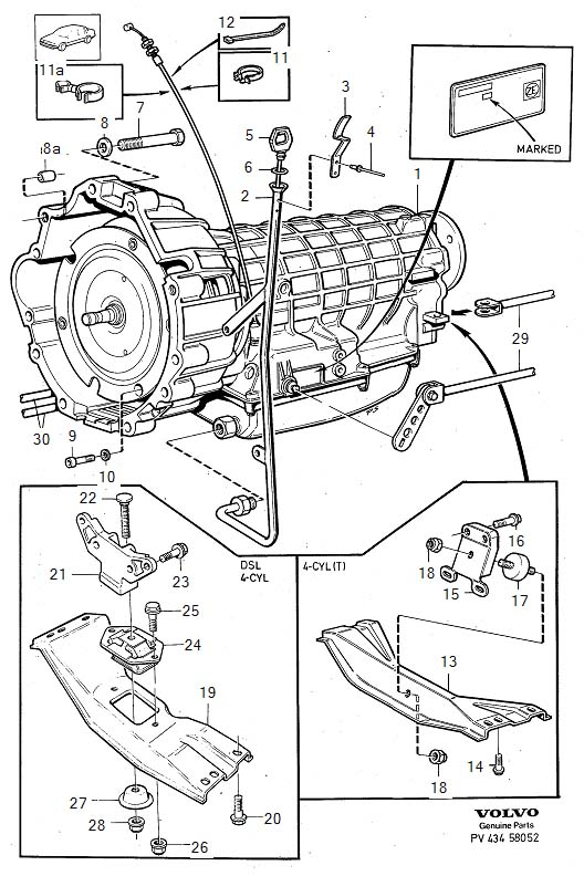 Service manual [1993 Volvo 940 Transmission Fluid Change