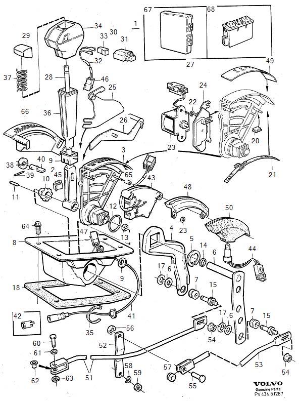 1994 Volvo 940 Transmission Diagram. Volvo. Wiring