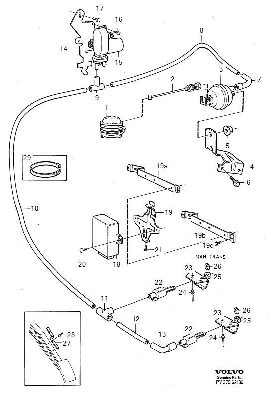 Volvo 940 Vacuum Diagram
