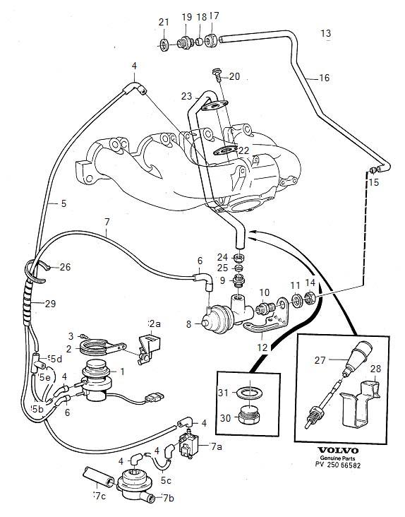 Volvo 245 Turbo Vacuum Diagram : 30 Wiring Diagram Images