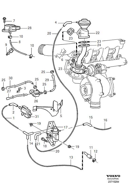 1997 Volvo S90 Engine Diagram