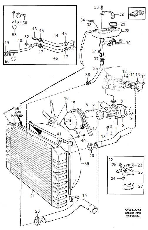 Volvo 940 Radiator Drain Plug, Volvo, Free Engine Image