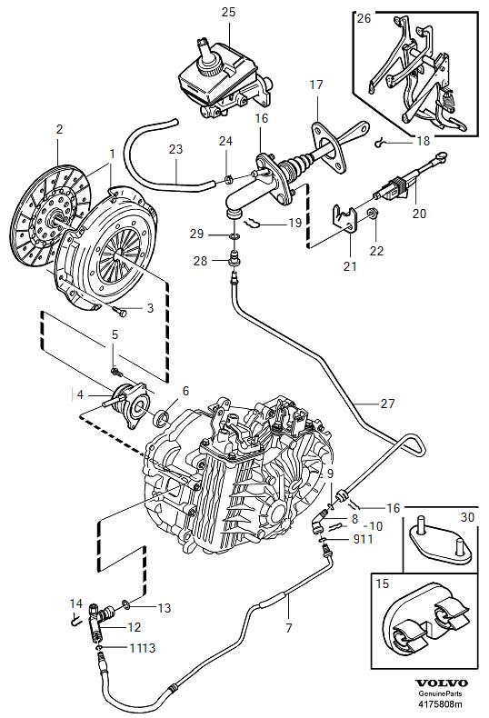 Service manual [2010 Volvo V50 Brake Drum Structure