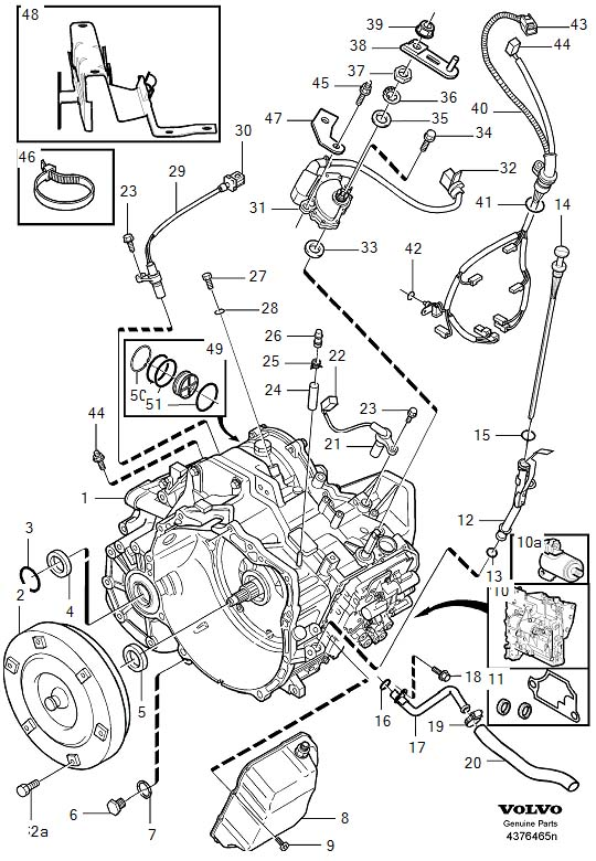 Volvo S80 Transmission Wiring Diagram, Volvo, Free Engine