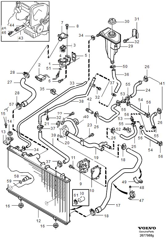 Volvo Xc90 Cooling System Diagram, Volvo, Free Engine