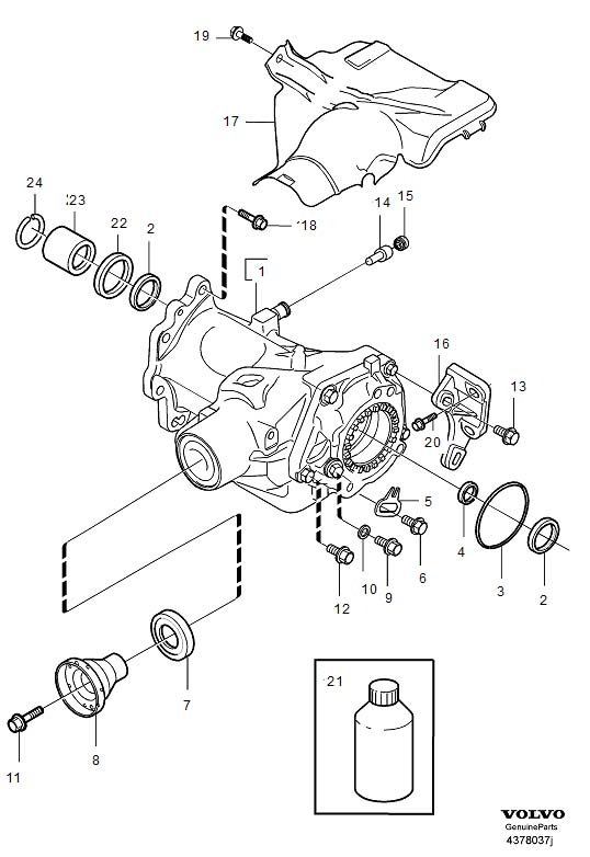 Service manual [Changeing Gear Shift Assembly 2005 Volvo