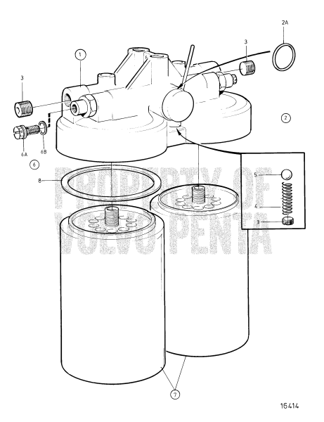Fuel Filter, Classifiable Fuel System, Components TAMD122A