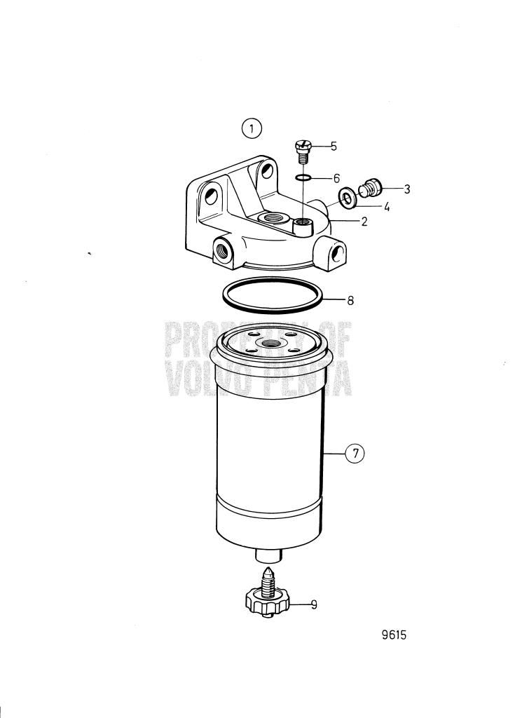 Fuel Filter MD22A, MD22A-A, MD22L-A, TMD22A, TMD22-A