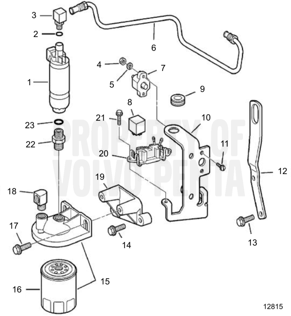 Fuel Pump And Filter 4.3GLPNCB, 4.3GLPNCS, 4.3GSJNCC, 4