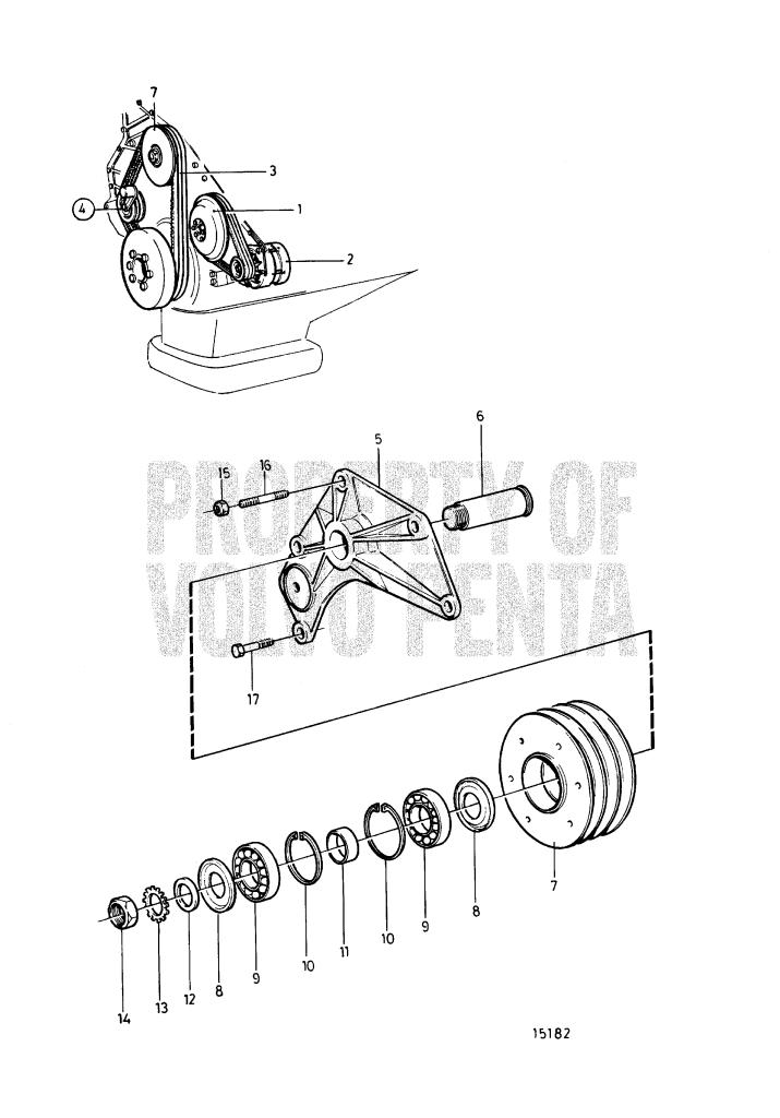 Belt Transmission And Belt Tensioner Device TAMD165A-A