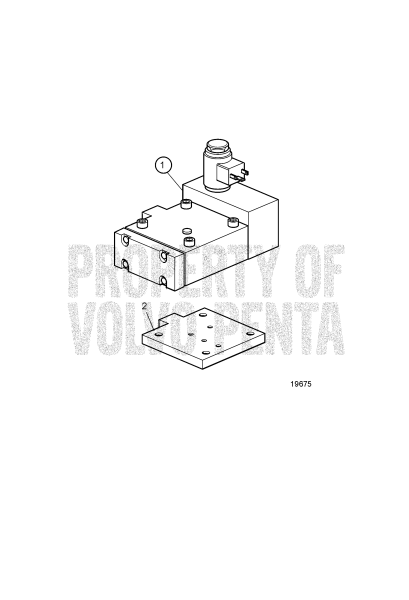 Trolling Valve Zf D9A2A D9-425, D9A2A D9-500 (R4), D9A2A