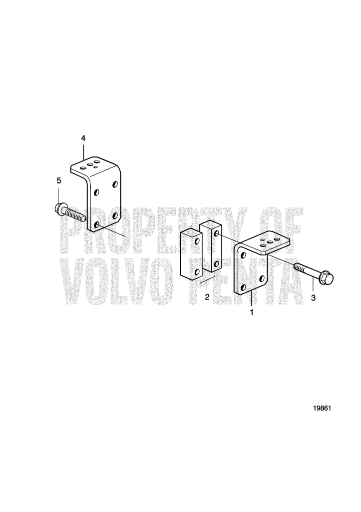 Engine Mounts For Reverse Gear Zf 220, Zf 280: Zf 280 D7A