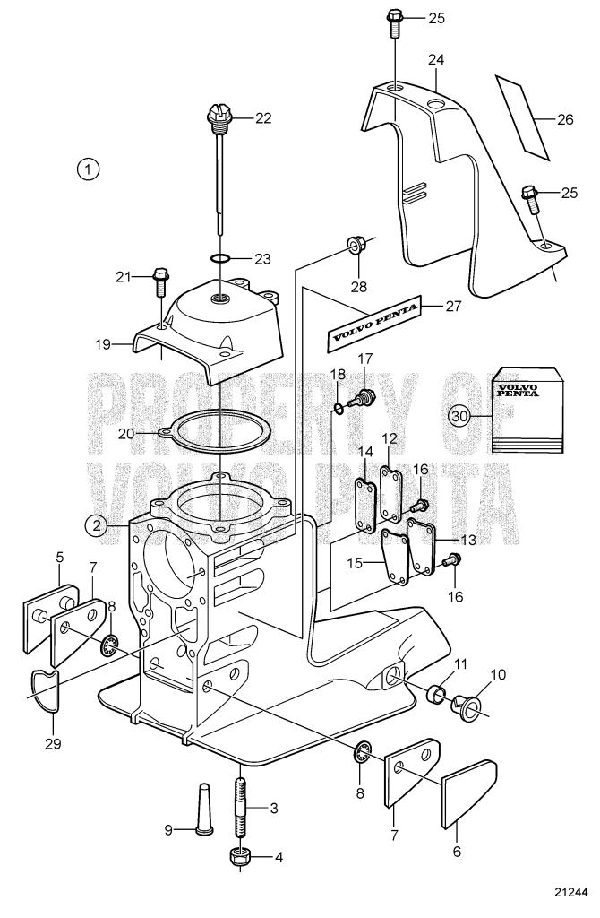 Volvo Penta Sx Outdrive Parts Diagram ~ Kennedy Wickens