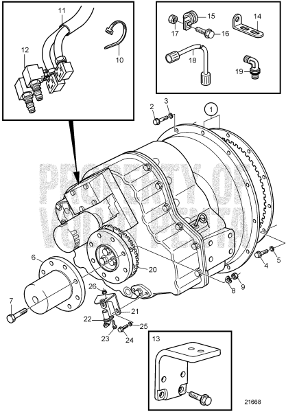 Connecting Components For Zf311a-E: B D12D-A MP, D12D-B MP