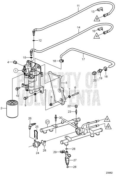 Fuel System 4.3GXi-J, 4.3GXi-JF, 4.3OSi-J, 4.3OSi-JF