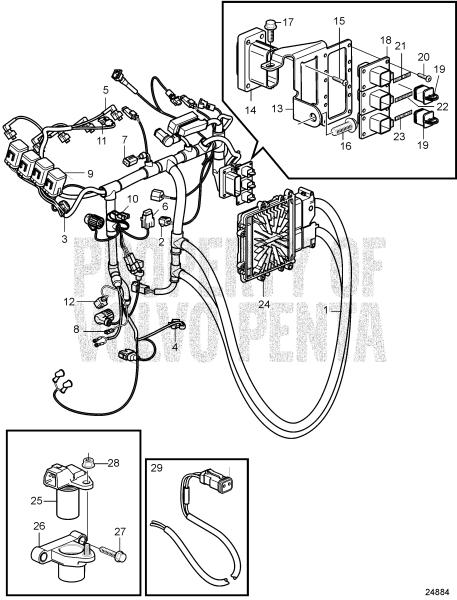 Electrical System D3-110I-D, D3-110I-E, D3-110I-F, D3-140I