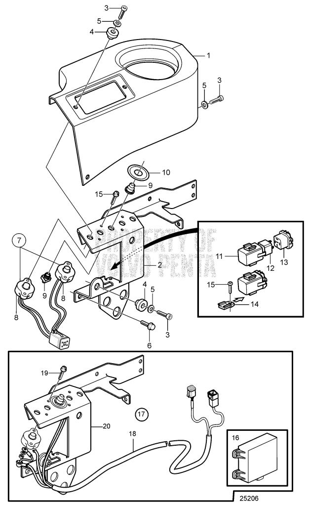 Fuse And Relay Holder D9A2A D9-425, D9A2A D9-500, D9A2A