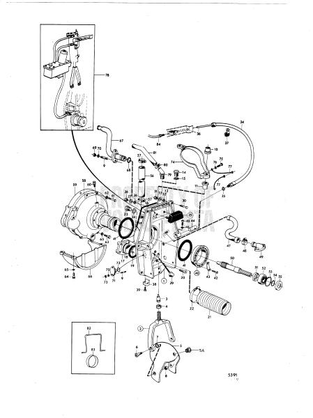 Connecting Components Aq Drive Unit 270t, 280t AQ170A
