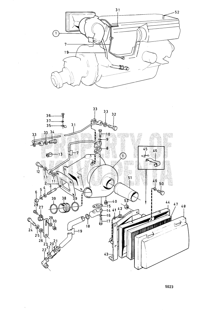 Turbo Compressor And Air Filter With Installation