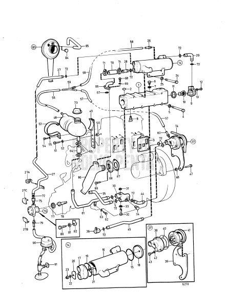 Cooling System, Induction- And Exh Manifold Spec 867577
