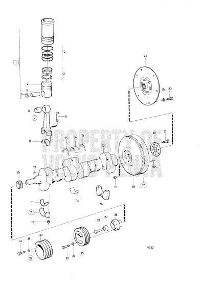 Crankshaft And Related Parts MD40A, TMD40A, AQD40A
