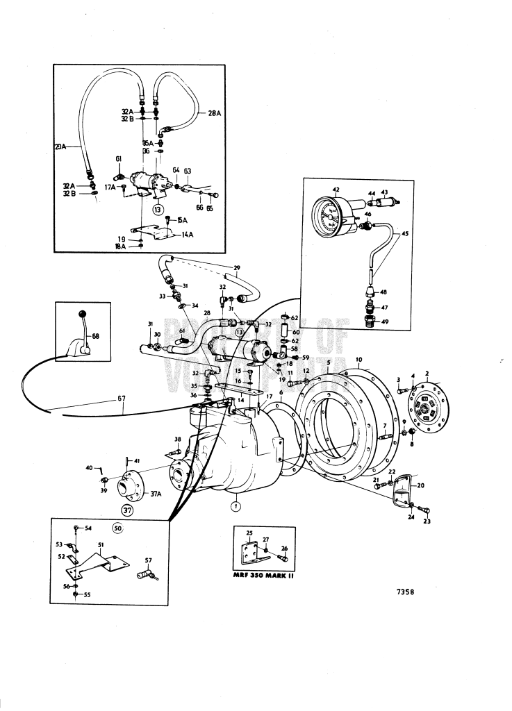 Reverse Gear Scg Mrf 350 And Installation Components: A