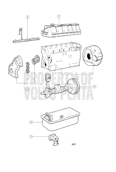 Engine With Installation Components: Solas TAMD41A