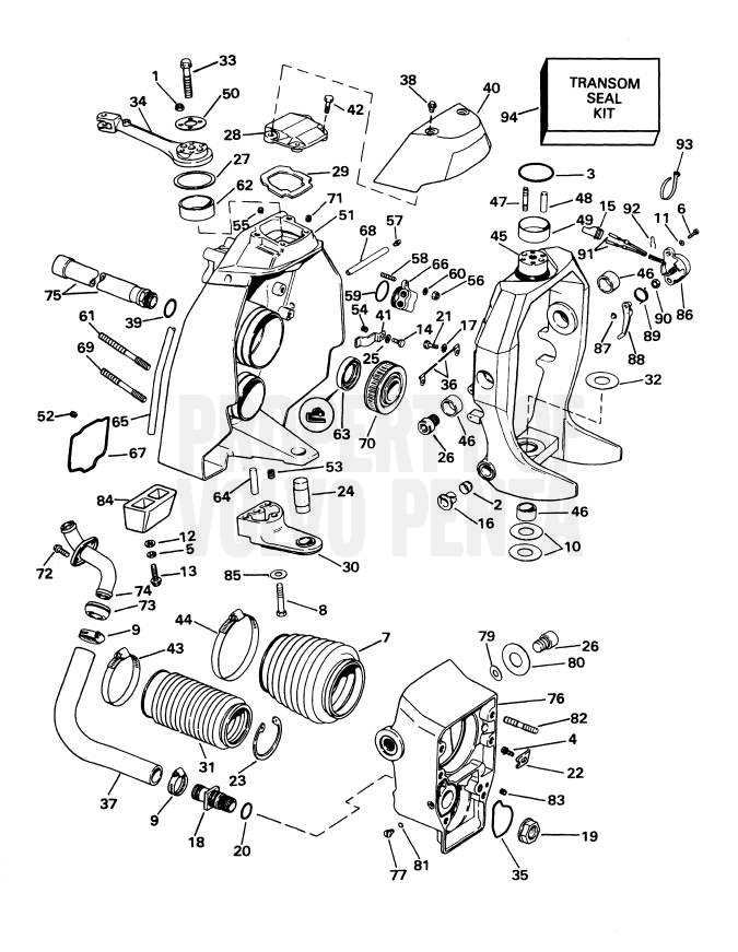 Volvo Penta Sterndrive Parts Diagram • Wiring Diagram For Free
