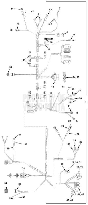 Engine Harness 7.4GSiPEFS, 8.2GSiPEFS, DPX385XEFS