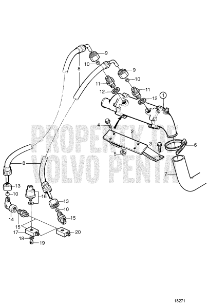 Oil Cooler For Irm220a1/Zf 220a, Irm220pl/Zf 220-Eb