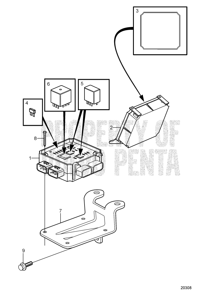 Fuse And Relay Box: 8.1gii-F, 8.1gxii-E 8.1Gi-E, 8.1Gi-EF