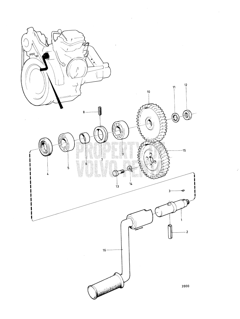Manual Starter And Inst. Components: A MD5A, MD5B : A