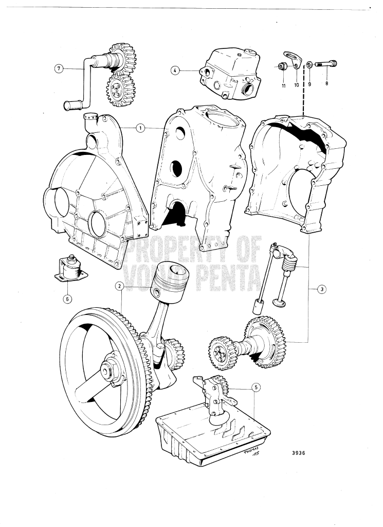 Engine And Installation Components MD5A, MD5B, MD5C