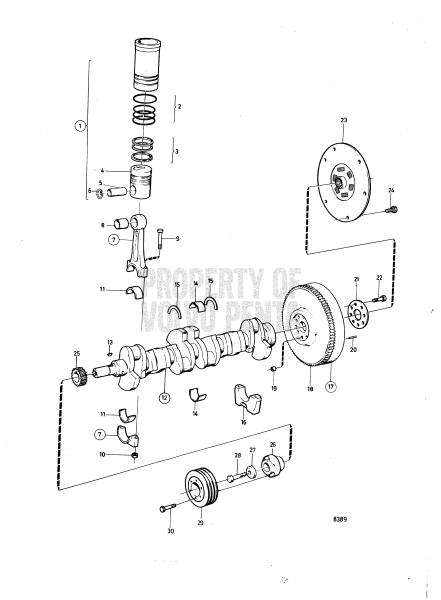Crankshaft And Related Parts: Solas TAMD41A : SOLAS