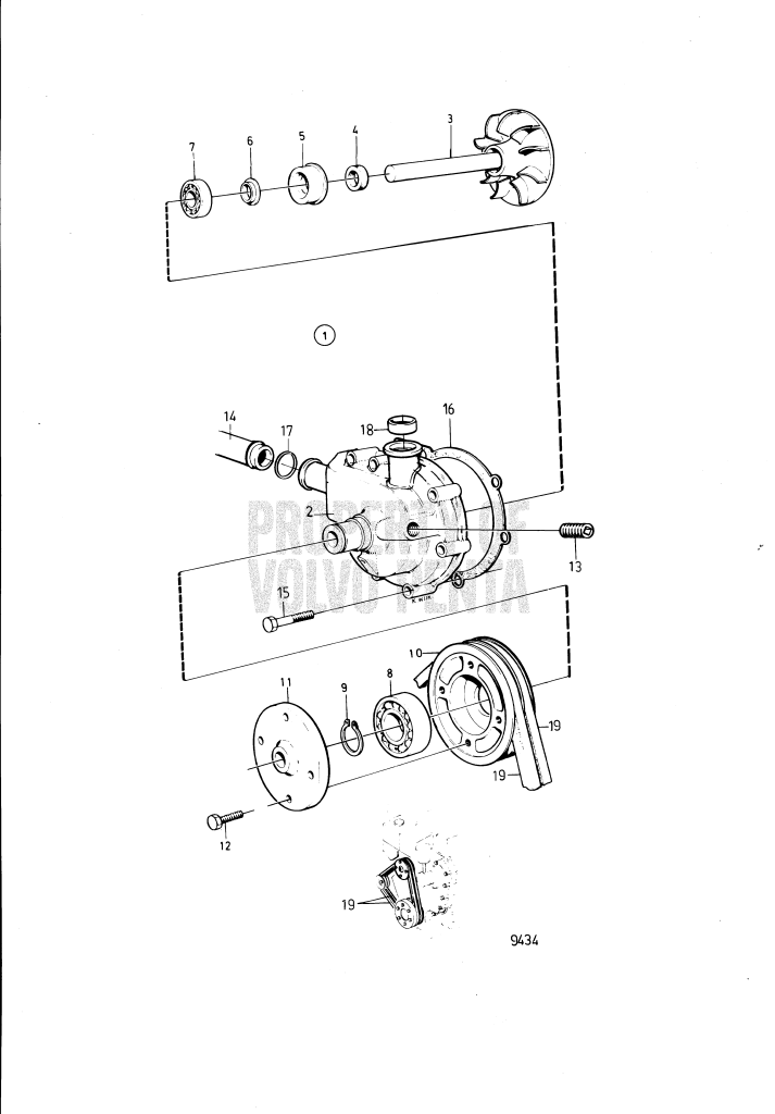 Circulation Pump And Installation Components: 859127