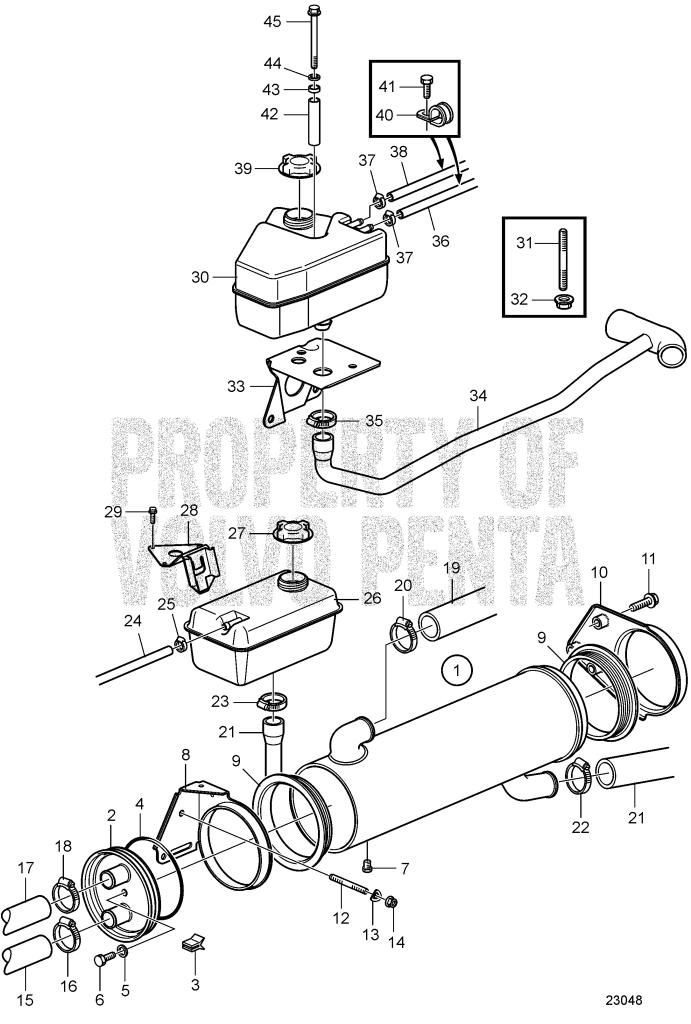 Heat Exchanger: A TAMD41H-A, TAMD41H-B, TAMD41P-A, TAMD41L