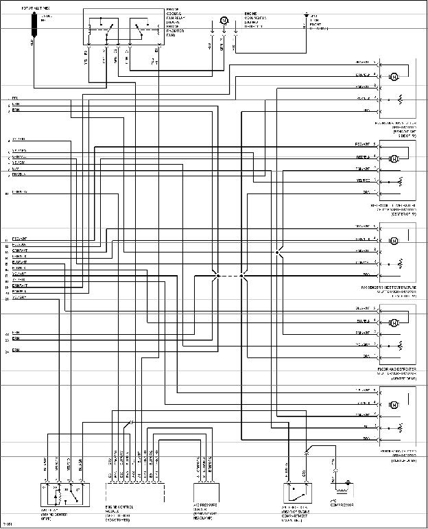 volvo wiring diagram 850