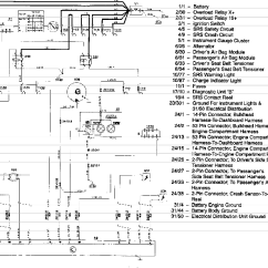Volvo 850 System Wiring Diagrams Boat Switch Panel Diagram Airbag Service Manual