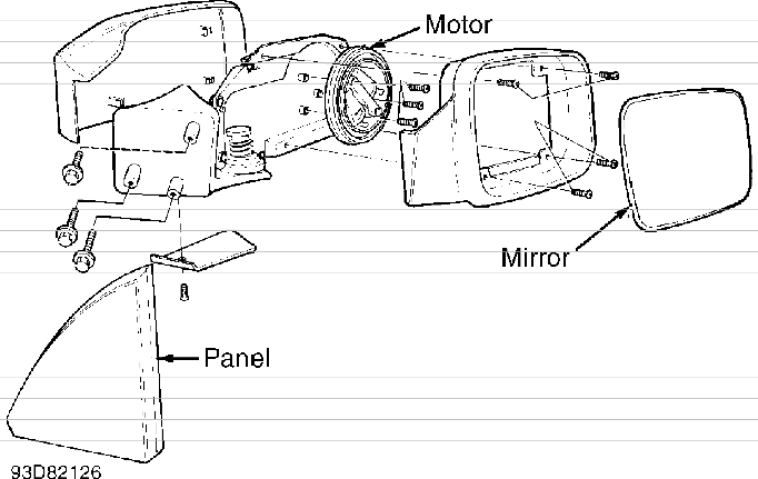 volvo 940 engine diagram pioneer fh x700bt wiring harness 850 power mirrors service manual volvotips are controlled by switch located on center console see fig 1 exploded view of mirror assembly courtesy cars north
