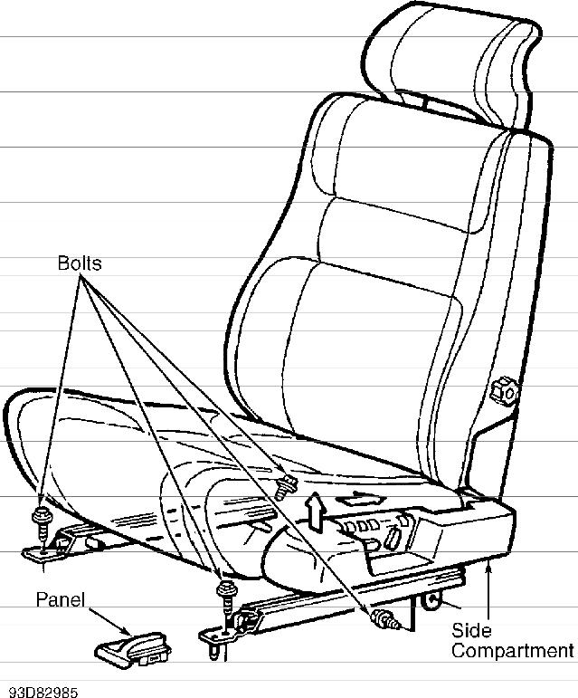volvo power seat wiring diagram