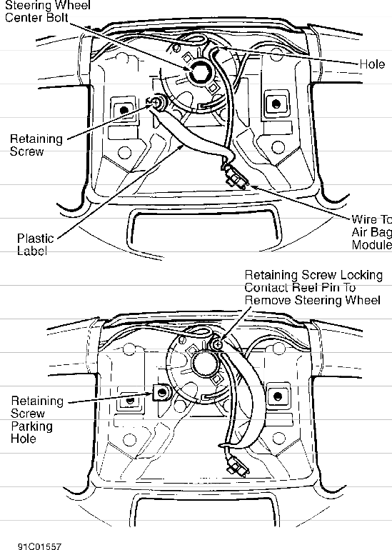 volvo 850 horn wiring