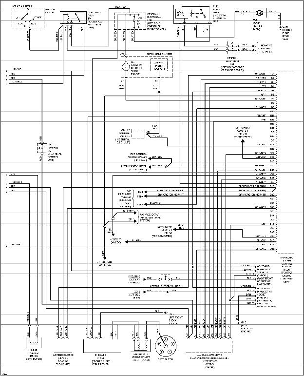 volvo 850 1996 electrical wiring diagram manual