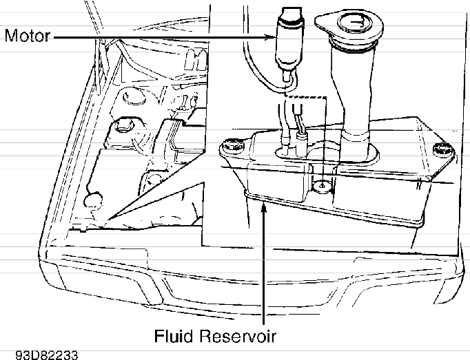 Volvo 850 wiper washer system service manual