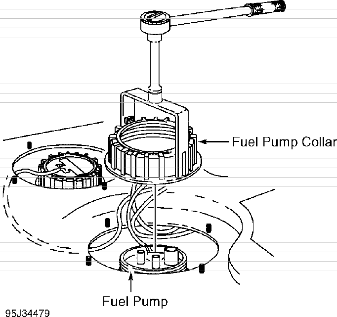 Volvo 850 fuel pump installation & servicing