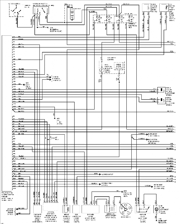 Engine Diagram1995 Volvo 940, Engine, Free Engine Image