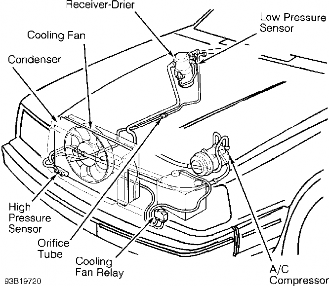 2001 Volvo S60 Radiator Diagram, 2001, Free Engine Image