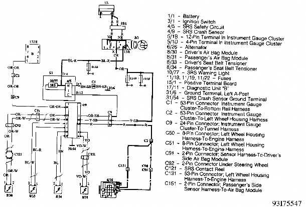 Volvo 940 Relay Location Moreover 960 Engine Diagram