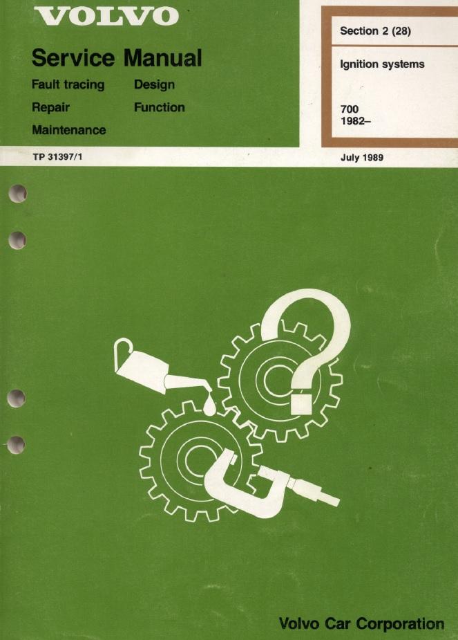 volvo 240 wiring diagram 1989 airbag audi a4 740, 760 & 780 service and repair manual